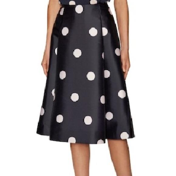 5c52eca5acf3 kate spade Dresses & Skirts - NEW Kate Spade LYSA Midi Skirt SPOTLIGHT  POLKA DOT